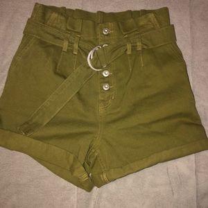 Free People paperbag shorts